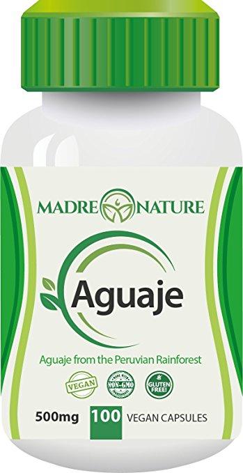 madre natura aguaje capsules