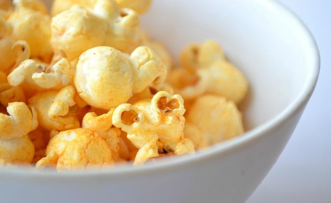 turmeric popcorn