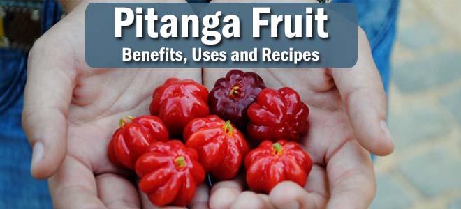 pitanga surinam cherry benefits