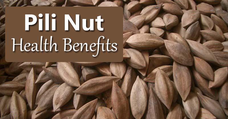 pili nut health benefits
